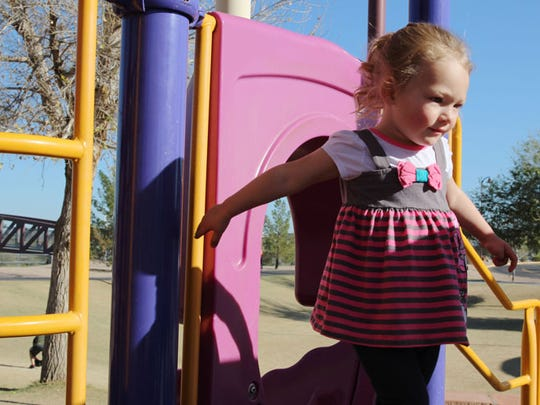 Drayton Witt's 2-year-old daughter, Ellie Mae Justice Witt, is named for the Arizona Justice Project. The group took on Witt's case in 2009.
