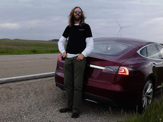 Tesla owner Brian Perkins said is one of a small, but
