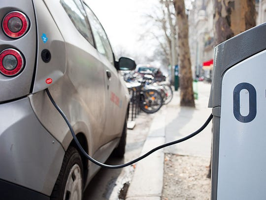 The corporation commission recently adopted a policy allowing utilities to charge ratepayers for electric vehicle charging stations.