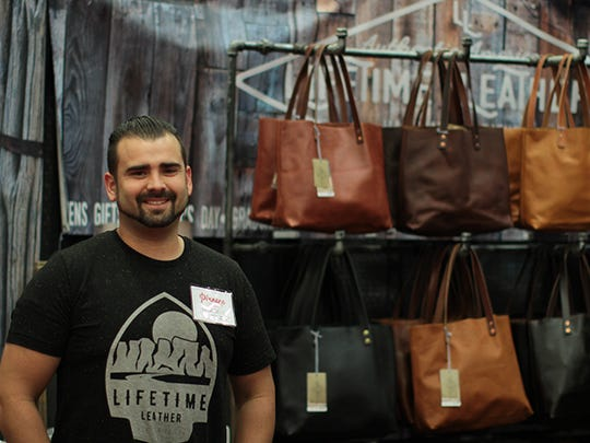Ty Bowman owns a leather-making company.