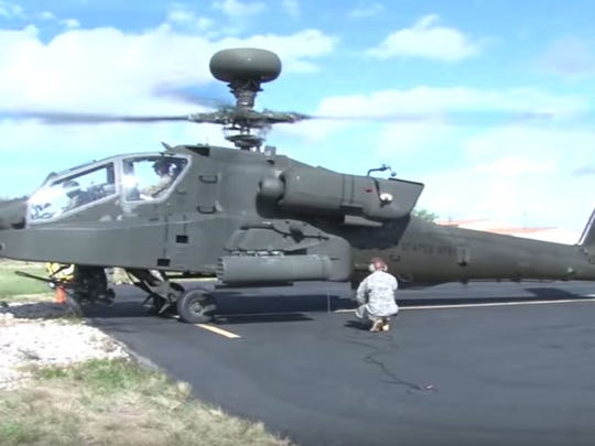 Apache helicopters are produced in Arizona, where defense