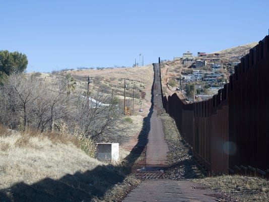 Mexico/United States border wall