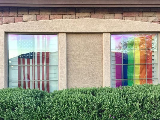 HOA pride flag