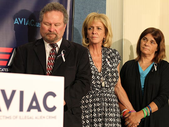 Don Rosenberg, Mary Ann Mendoza and Michelle Wilson-Root