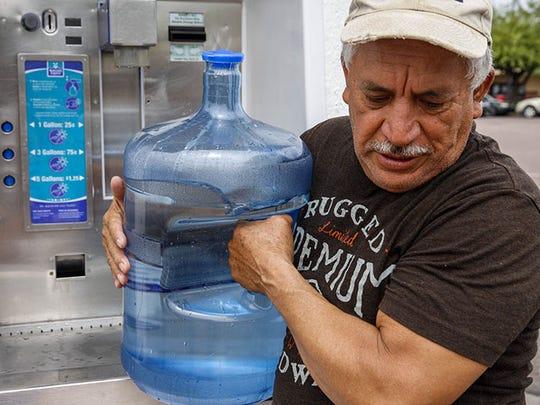 Francisco Tavira, 62, earns $12 an hour at Sierra Sun