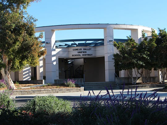 The Conejo Valley Unified School District headquarters.