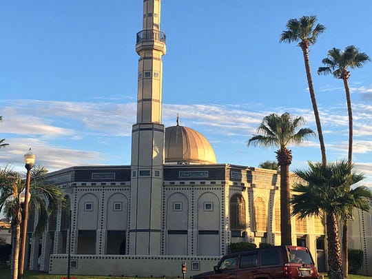 The Islamic Community Center of Tempe, one of the largest mosques in Arizona.