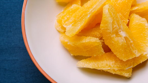 Eating an orange a day can provide ten benefits to