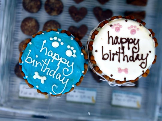 Gourmet birthday cakes at Bubba Rose Biscuit Company
