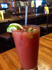 A Bloody Mary at Bobby T's.
