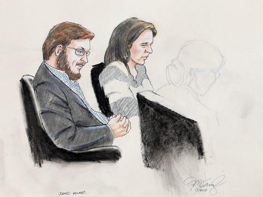 James Holmes, Tamara Brady
