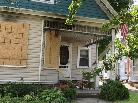 An Endicott residence was damaged early Aug. 10, 2016,