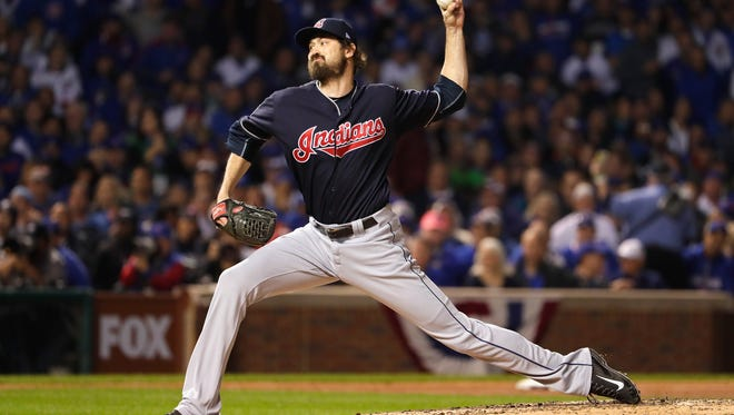 Andrew Miller struck out three of the four batters he faced.