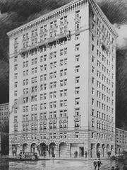 The  156-room  Eddystone opened in 1924.