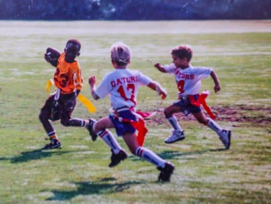 Marcus Hood loved to play football. Daphine Renee Perkins'