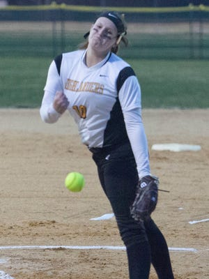 West Milford junior pitcher Jess Perucki earned key wins over Wayne Valley and Lakeland this past weekend and combined for 18 strikeouts in both games.
