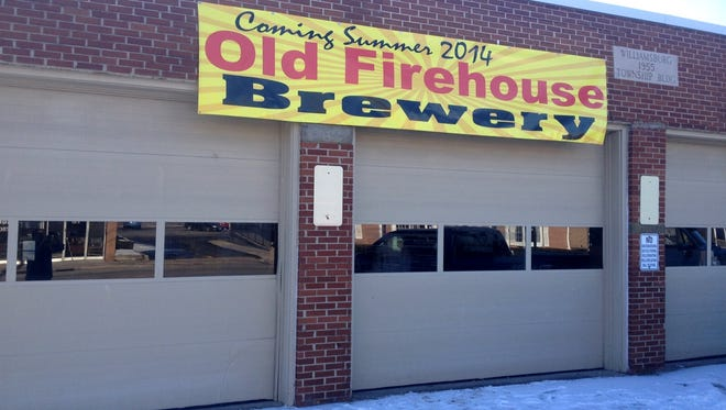 Old Firehouse brewery will be in a 1955 firehouse in Clermont County's Williamsburg.