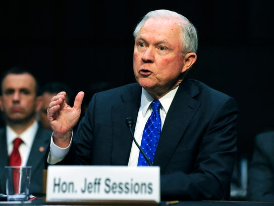Jeff Sessions, fiscal general de EU.