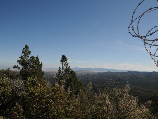 The view from Wolverton Mountain Trail, part of the