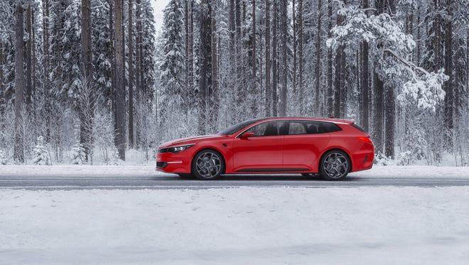 The Kia Sportscape concept due at Geneva Motor Show in March.