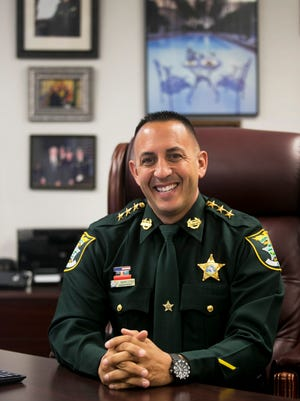 Lee County Undersheriff Carmine Marceno has taken on a much larger role with the Lee County Sheriff's Office, serving as the face of the organization while Sheriif Mike Scott focuses on the operational side.