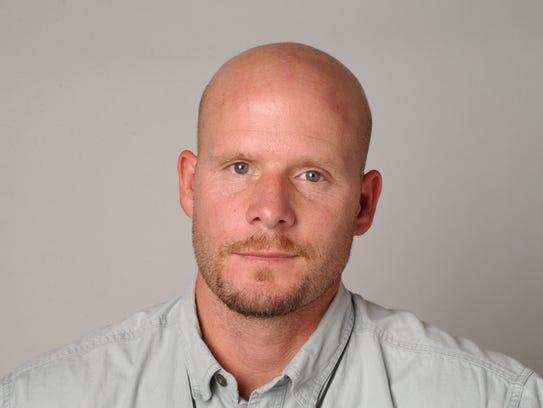 David Gilkey, photographer at the Detroit Free Press,