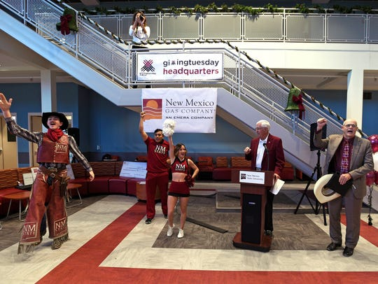 New Mexico State UniversityChancellor Garrey Carruthers