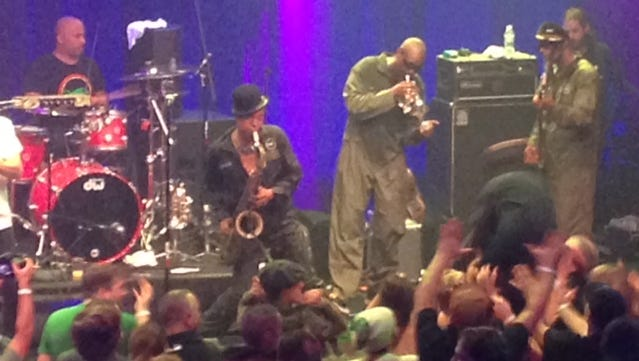 Fishbone at the new House of Independents in Asbury Park on Tuesday, Nov. 24.