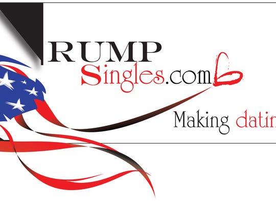 The logo for TrumpSingles.com.