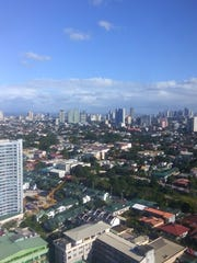 The growing Manila Skyline