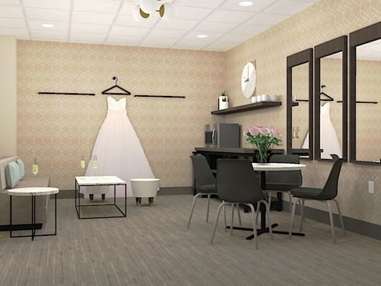 CityFlats Hotel in downtown Port Huron is expected to have 36 rooms, including the pictured bridal suite.