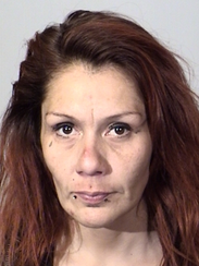Marie Salas, 38, of Oxnard, was arrested late Friday