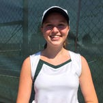 Springfield Catholic sophomore Anna Rader went 33-2 in 2015 and placed fourth at the Class 1 state singles tennis tournament.