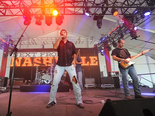 Laurel-based Bo Dickerson Band performs at the Delaware