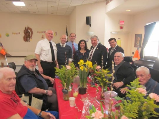 Celebration of Horticultural Therapy Week with dignitaries and the New Jersey Department of Agriculture at New Jersey Firemen's Home.