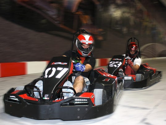 Indoor Go Karting Coming To Palisades Center