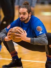 Knicks center Joakim Noah.