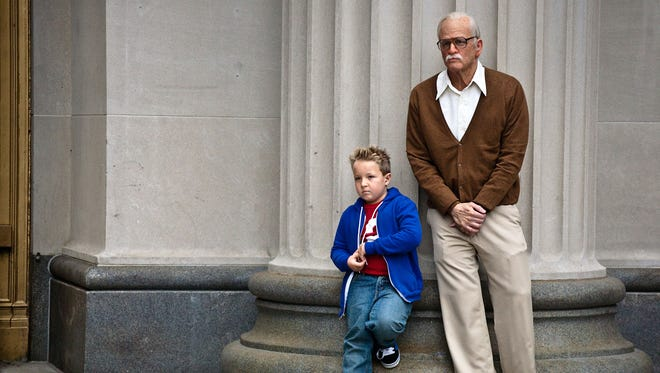 Jackson Nicoll is Billy and Johnny Knoxville is Irving Zisman in JACKASS PRESENTS: BAD GRANDPA