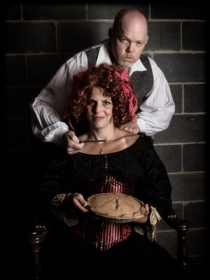 "Don't order any pies this barber, but do head to the Asheville Community Theatre to see ""Sweeney Todd."""