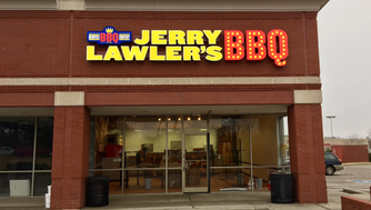A barbecue shop branded with the famous Memphis wrestler is nearly ready to open in Cordova.