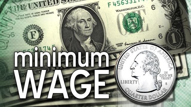 The ballot measure is to gradually raise Arkansas' minimum wage from $6.25 an hour to $8.50 an hour by 2017.