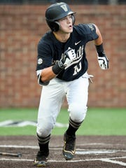 Vanderbilt's Ethan Paul is among the SEC's leaders in hits, doubles and RBIs this season.
