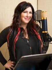 '80s pop star Tiffany Darwish, also known as Tiffany, in a Nashville recording studio in 2016.