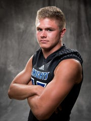 Nolensville's Colton Dooley poses for a portrait during