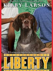 "Kirby Larson's new book is part of Scholastic's ""Dogs of World War II"" series."
