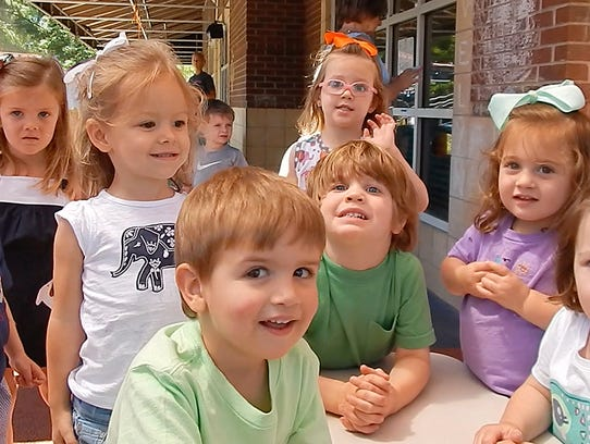 Students at Ann Campbell Early Learning Center at MTSU