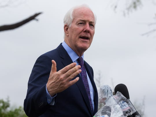 U.S. Sen. John Cornyn is one of two Texas politicians who don't agree that spending $5.7 billion on a border wall will benefit their region.