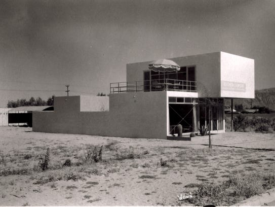 Albert Frey's buildings getting historical nomination