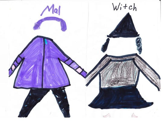 This year I'm going to be a wicked witch.  Two years ago, I was Mal.  I had so much fun.  I go to the Nick Nackery to pick out my costumes.  They have all different kinds of costumes.  Emma Early, grade 3 St. Benedict Cathedral School