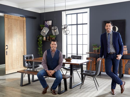 Drew and Jonathan Scott have expanded their Property Brothers empire to include home furnishings sold through Scott Living, their furniture/decor brand.